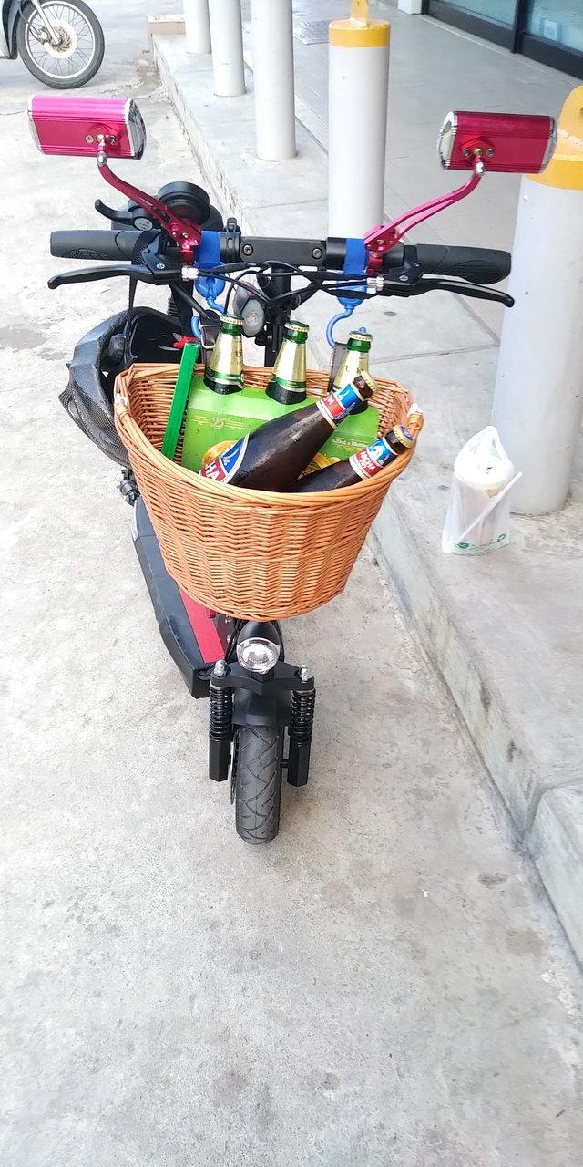 eScooter mit Sitz