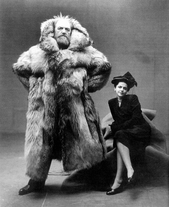 Arctic explorer Peter Freuchen and his wife Dagmar Gale.jpg